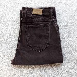 Vintage Lee high rise slim fit tapered leg